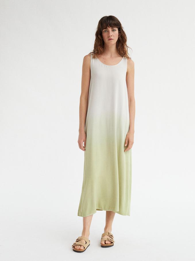 Sukienka Na Ramiaczkach, Zólty, hi-res