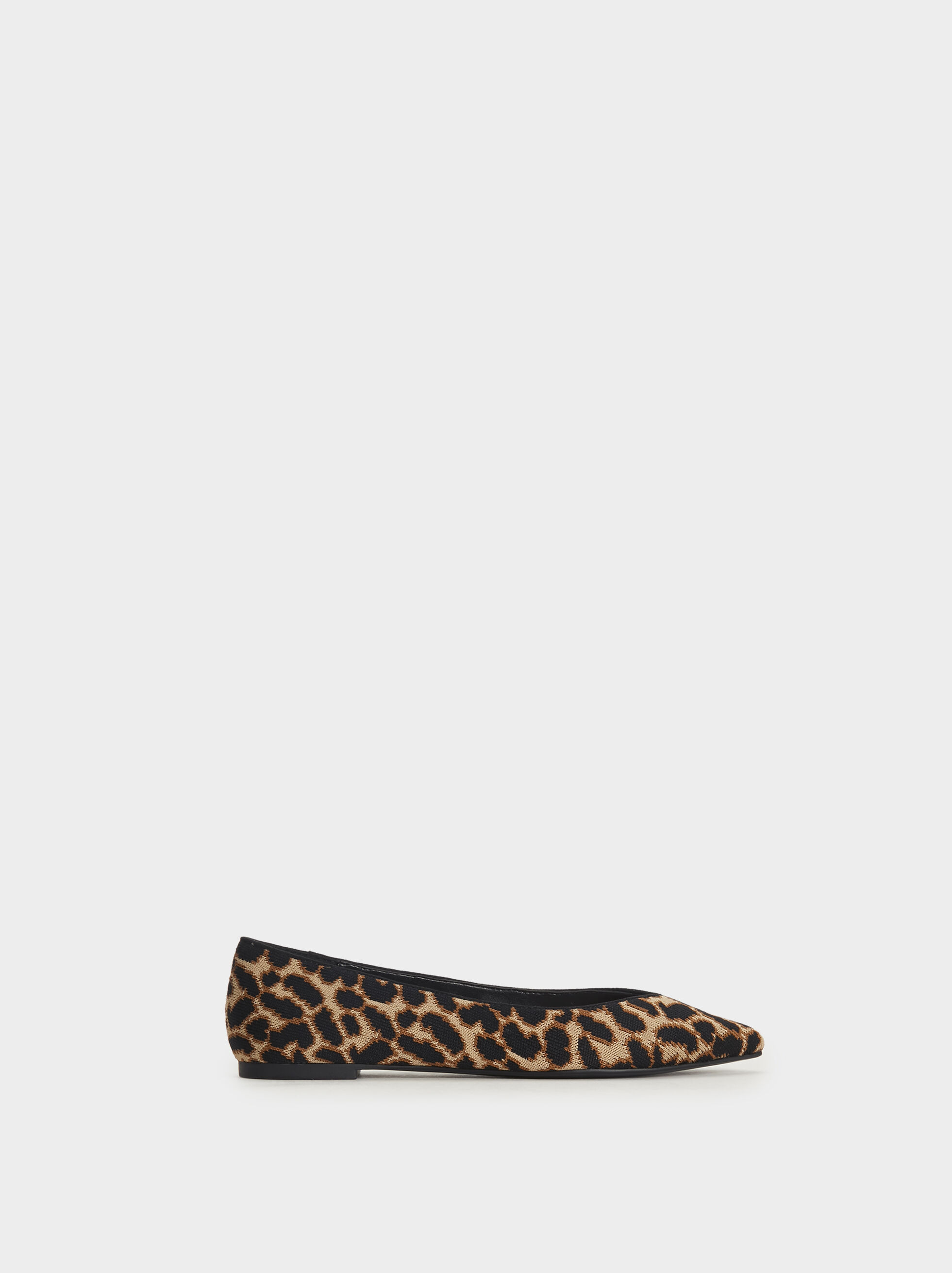 Animal Print Flats, , hi-res