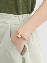 Star Valley Elastic Bracelet, Camel, hi-res