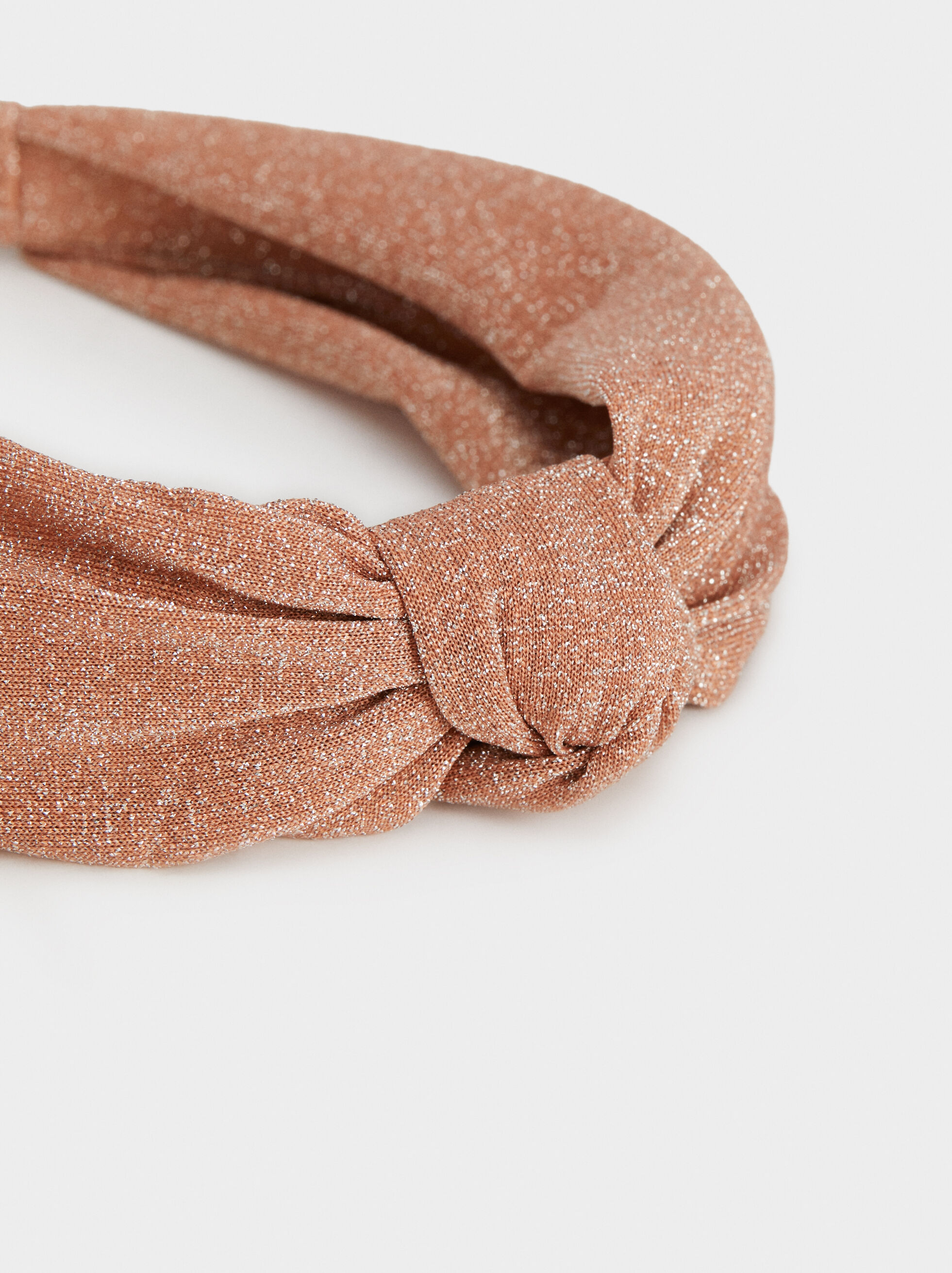 Knotted Headband, Pink, hi-res