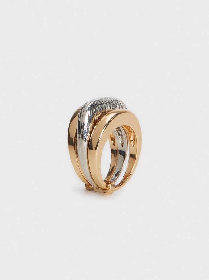 Triple Gold Ring, Golden, hi-res