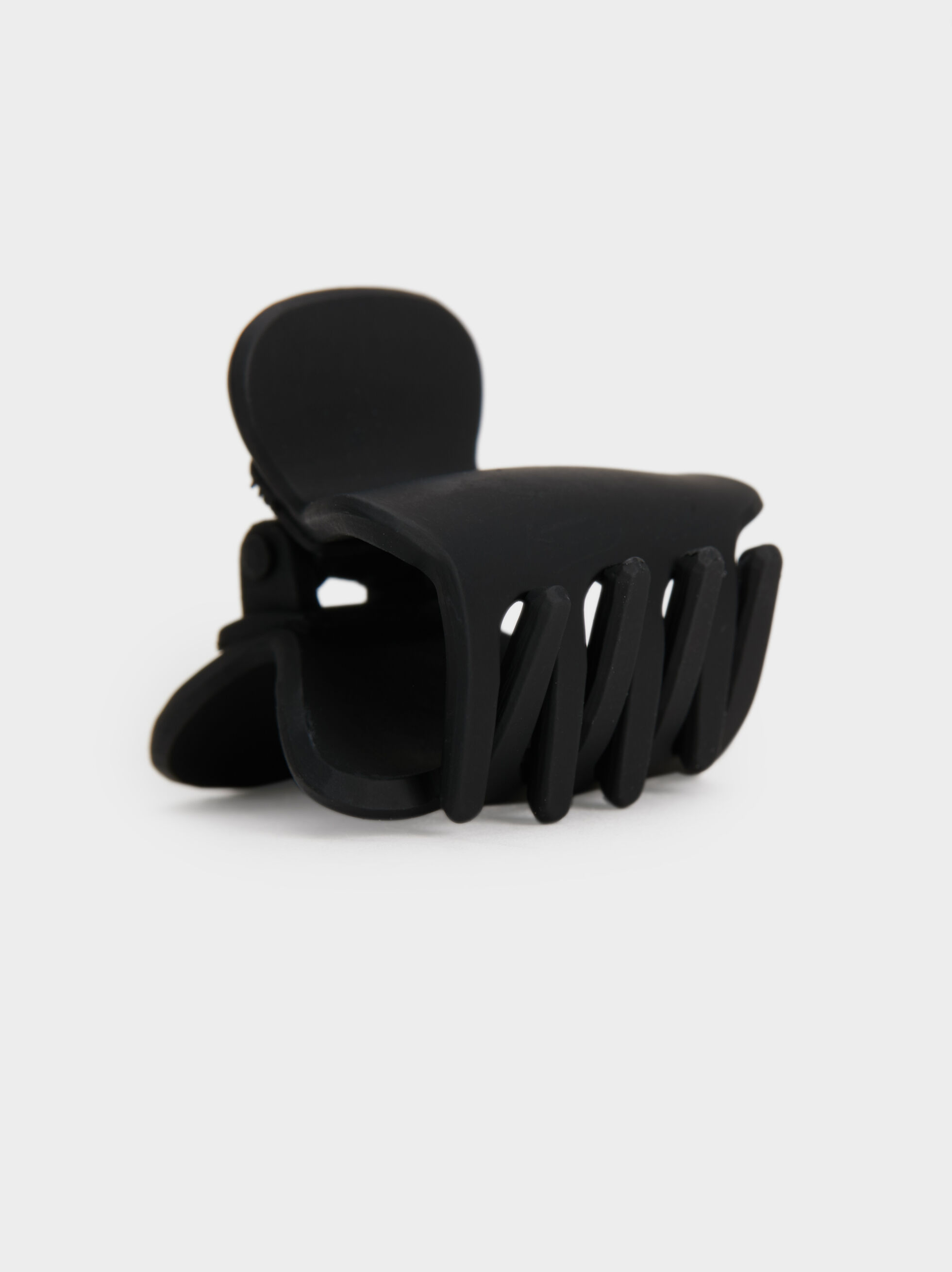 Basic Hair Claw, Black, hi-res