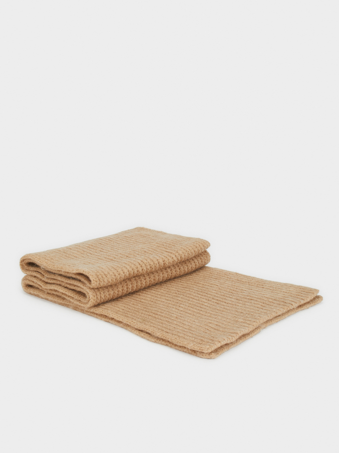 Soft-Touch Scarf, Camel, hi-res