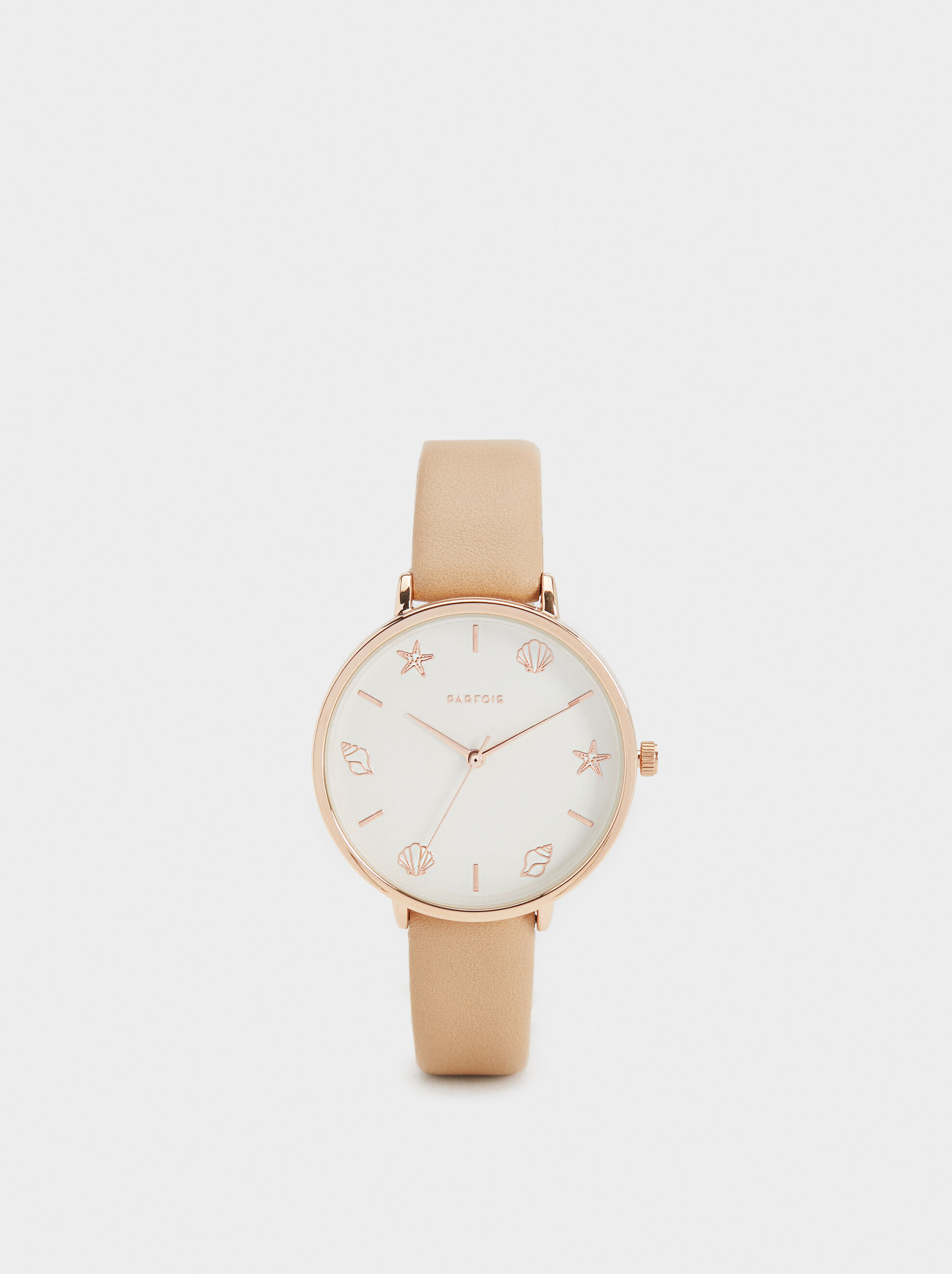 Watch With Marine Dial Details, Beige, hi-res