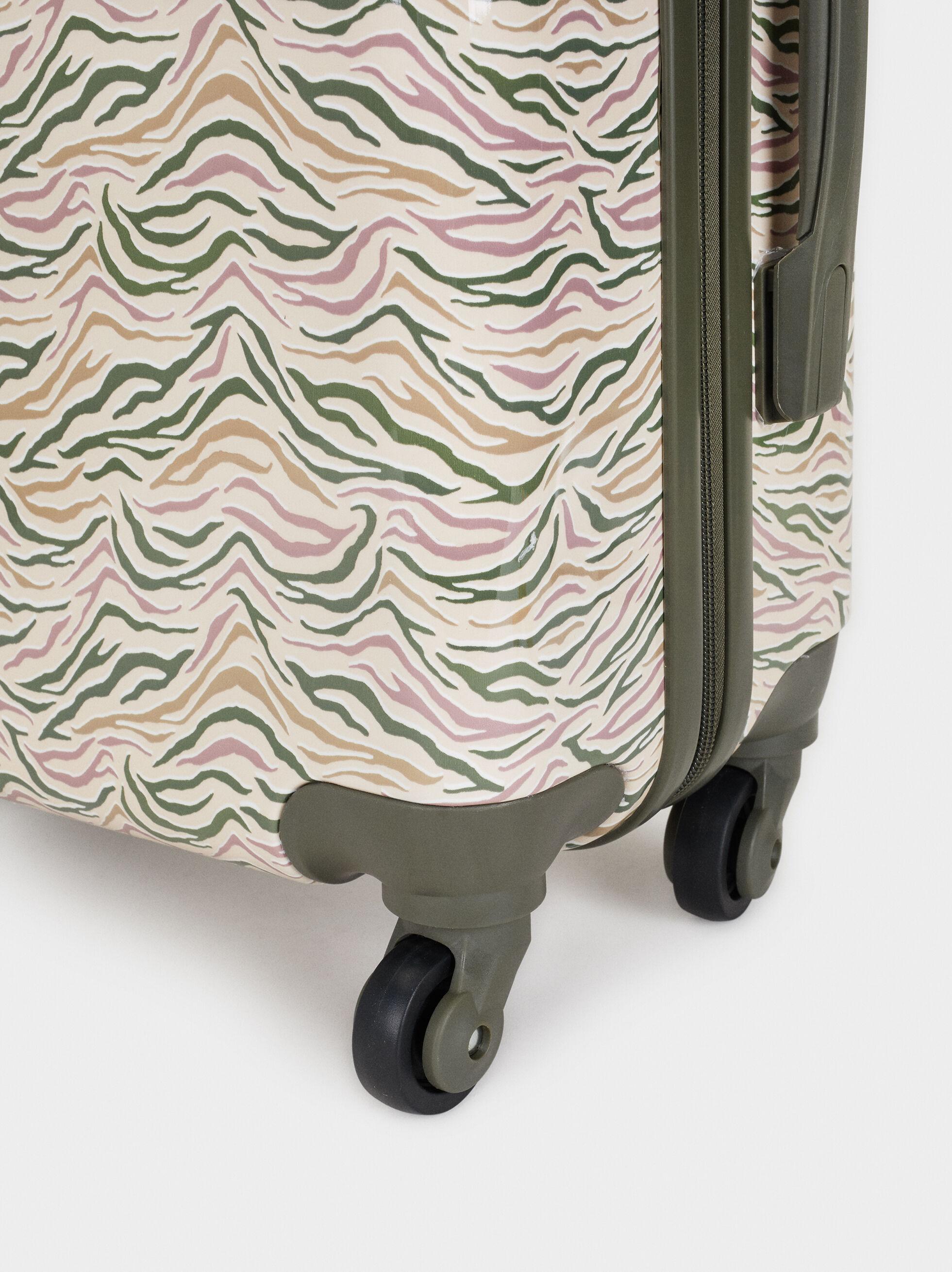 Print Carry-On Bag, Ecru, hi-res