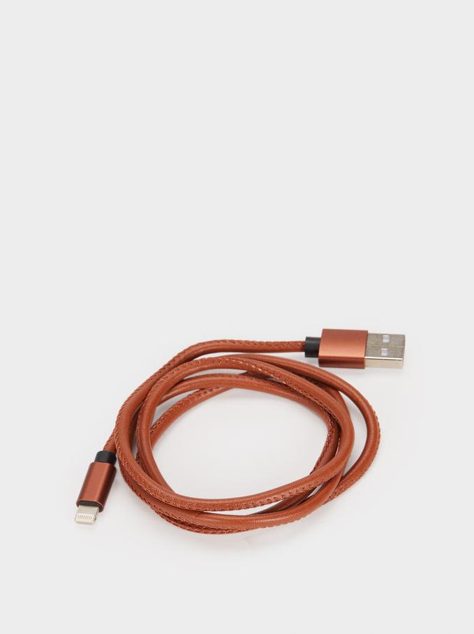 Usb Cable, Camel, hi-res