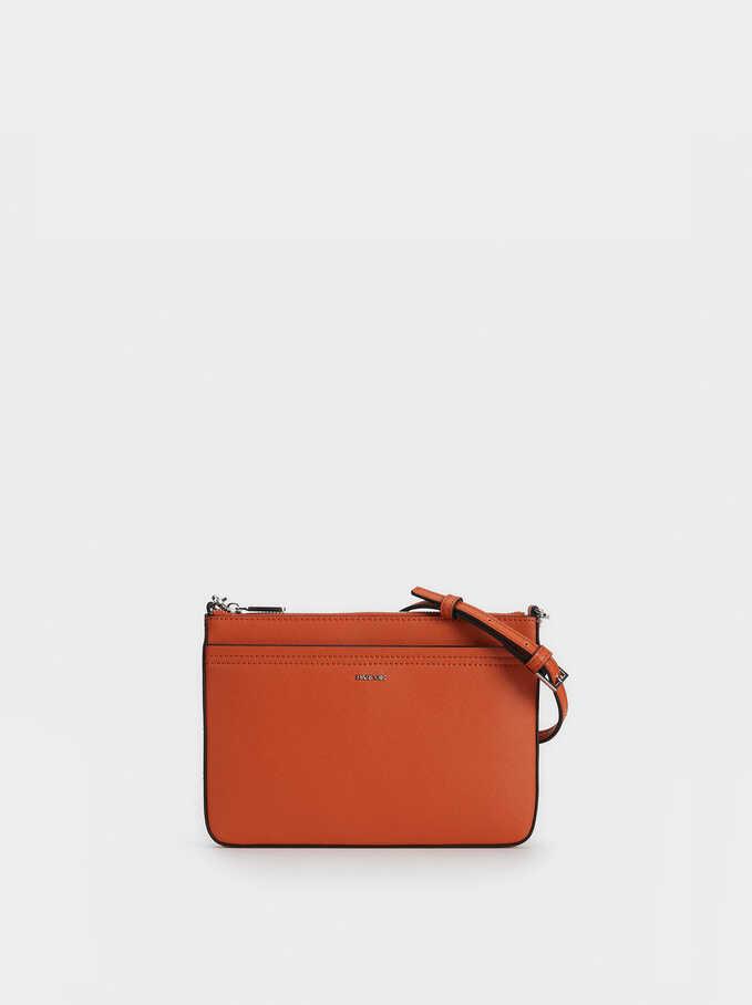 Lalala Cross Bag, Brick Red, hi-res
