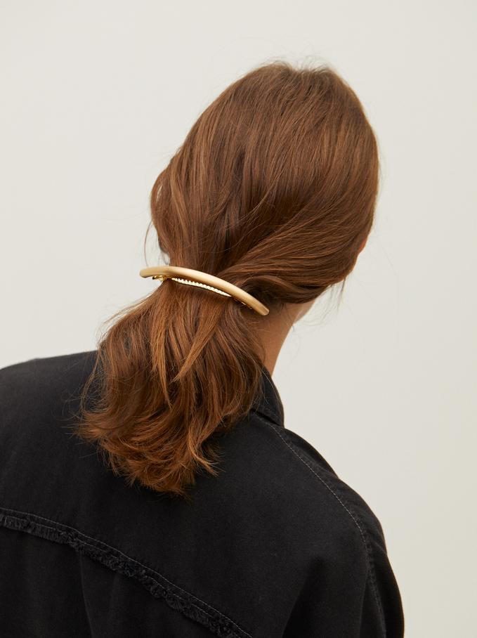 Golden French Clip, Golden, hi-res