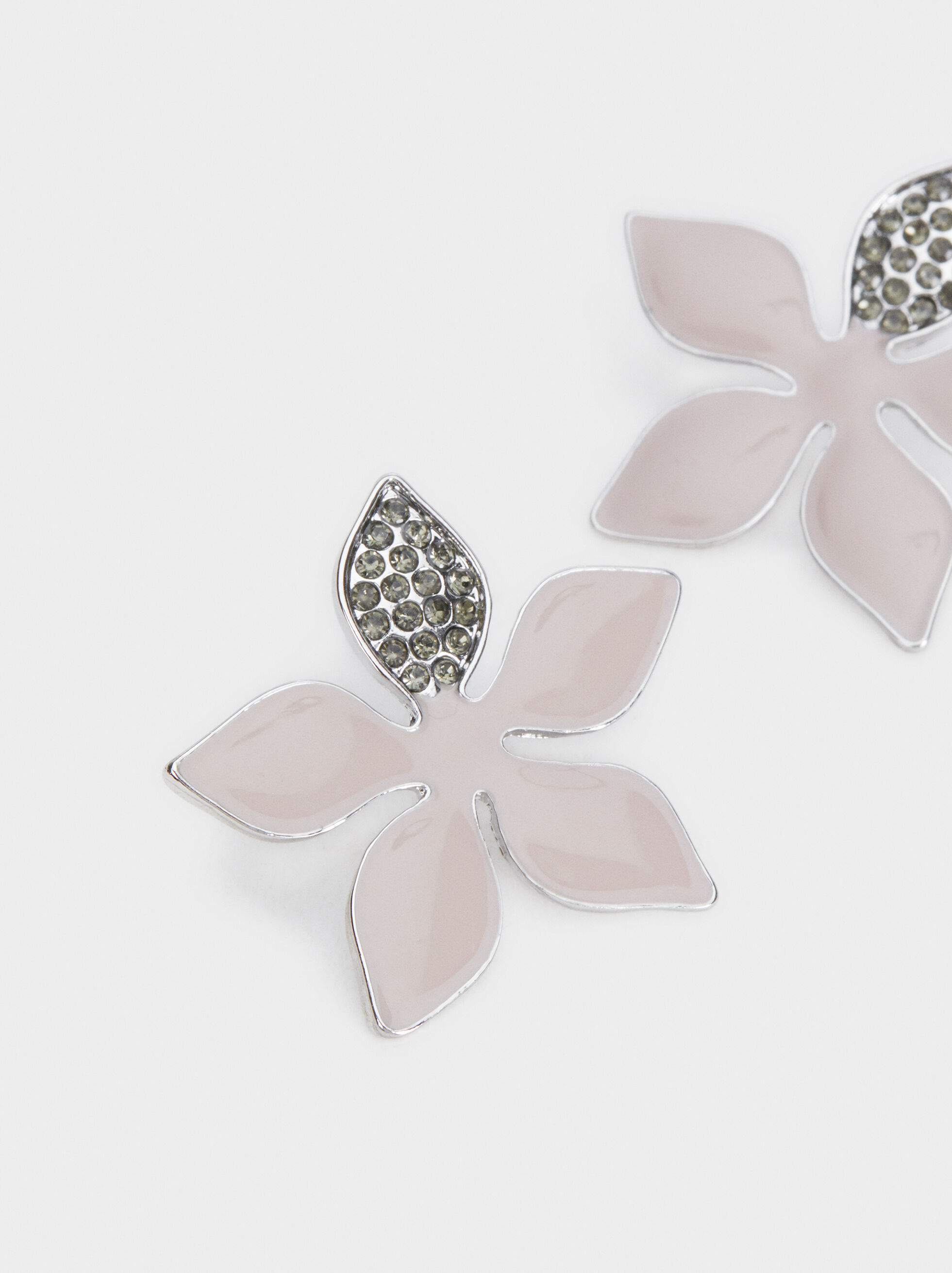 Magnolia Flower Studs, Multicolor, hi-res