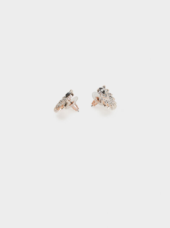 Pink Desert Earrings, Orange, hi-res
