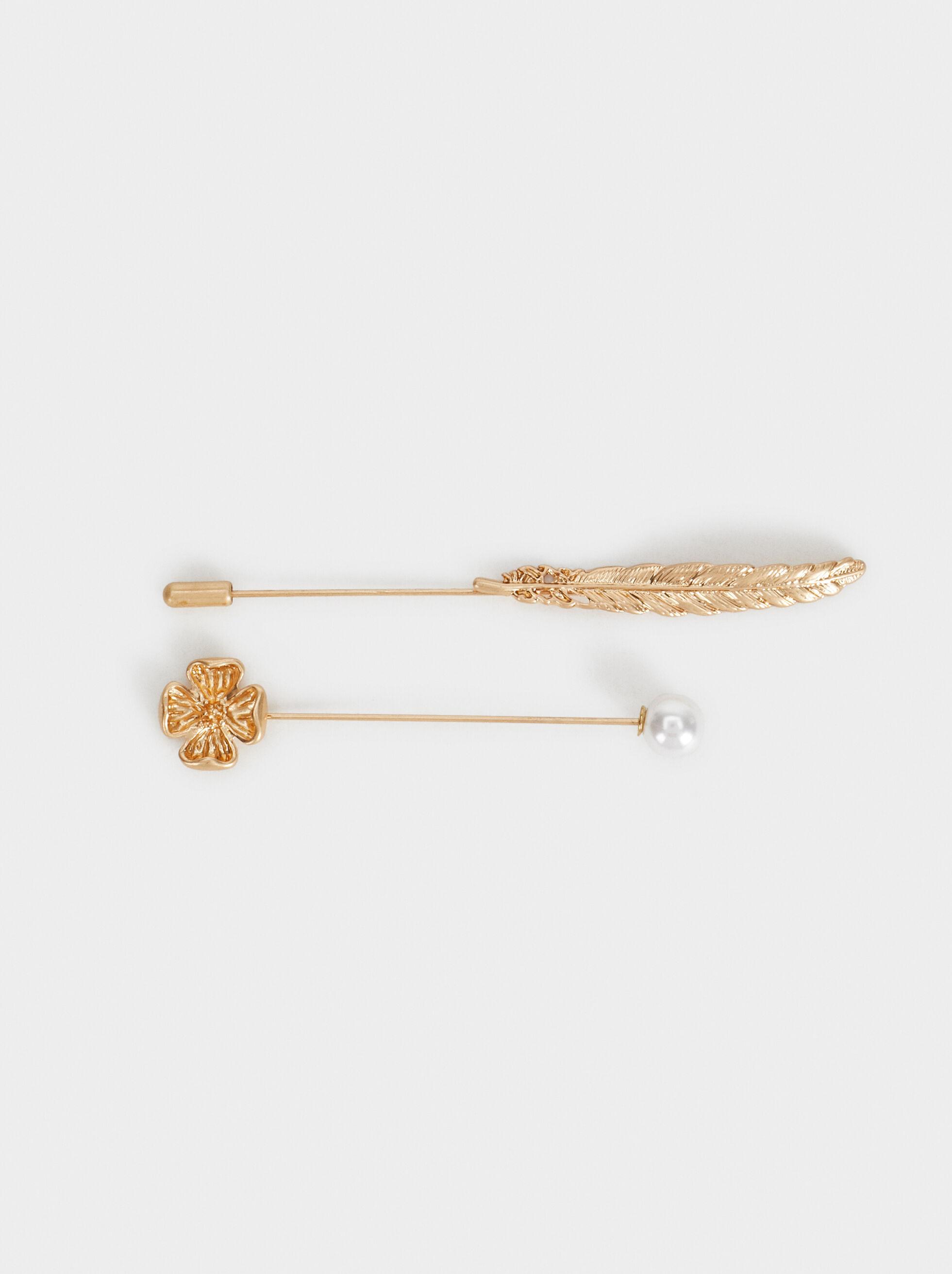 Leaf Pin, , hi-res