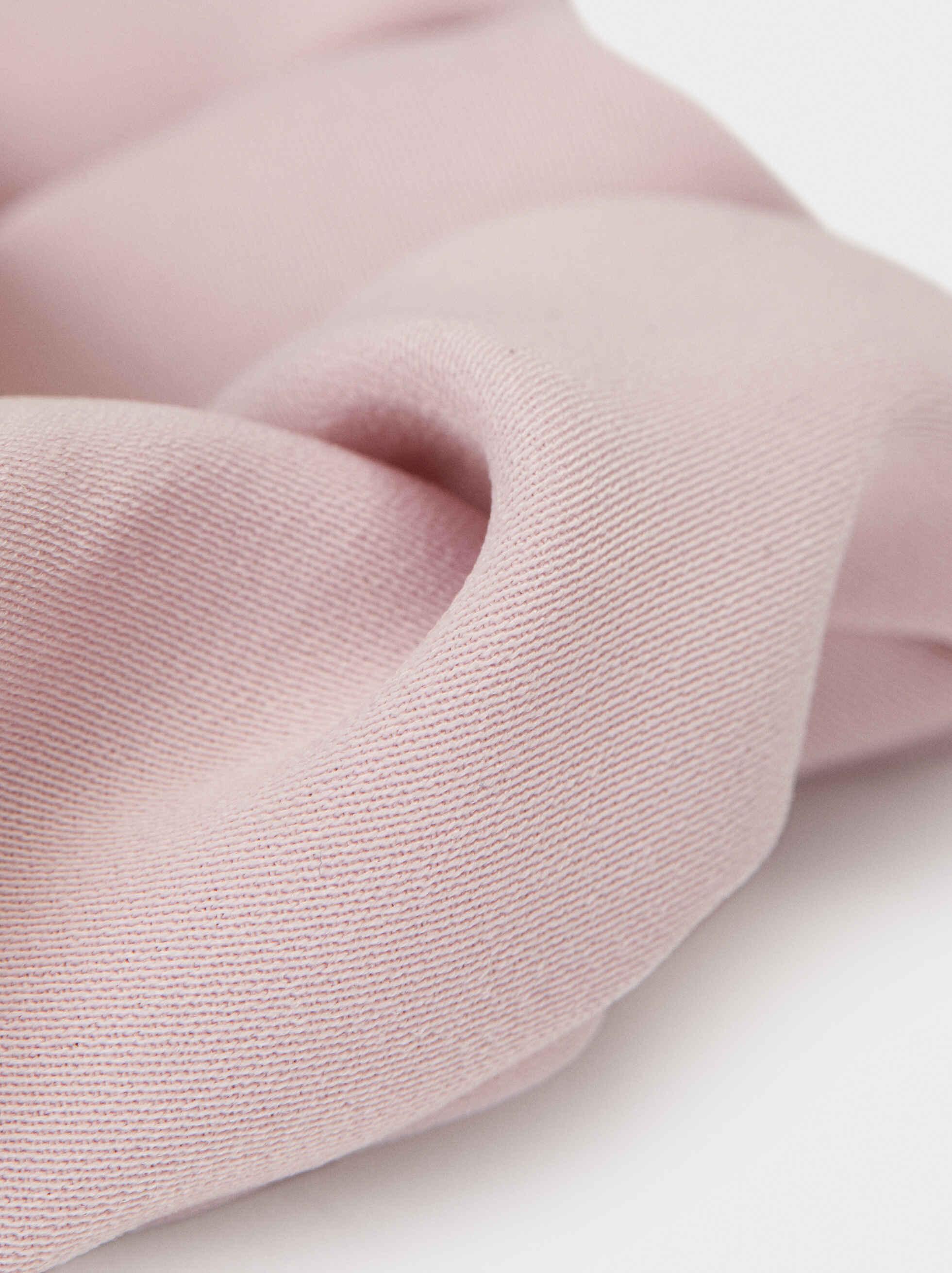 Plain Scrunchie, Pink, hi-res