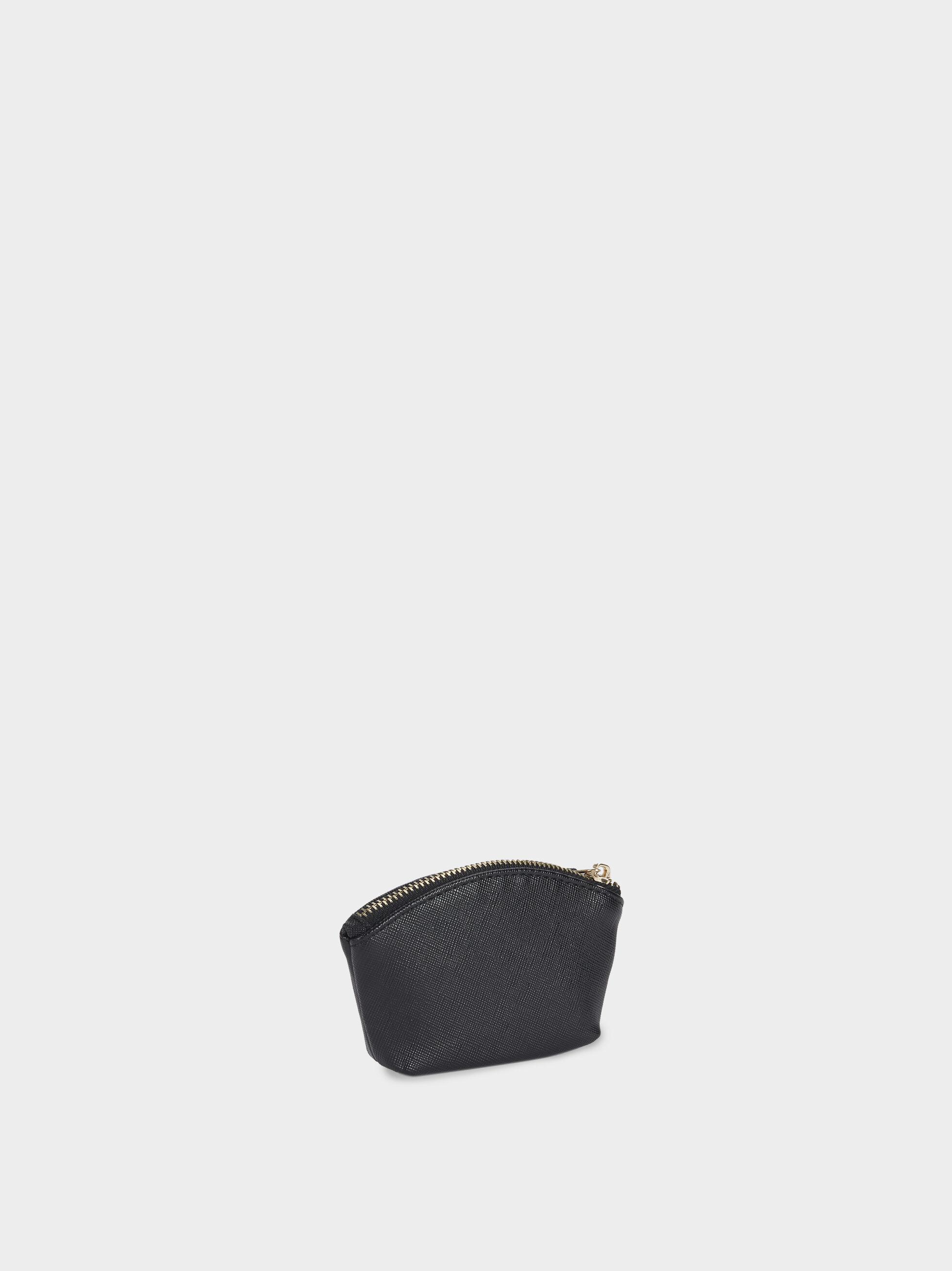 Basic Coin Purse, Black, hi-res