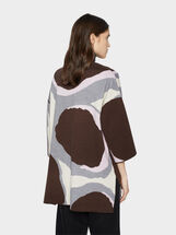Mesh Kimono, Brown, hi-res