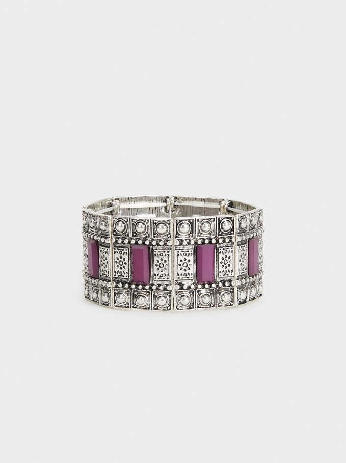Bissau Bracelet, Purple, hi-res