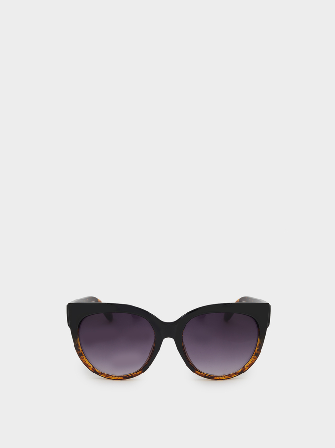 Tortoise Sunglasses, Black, hi-res