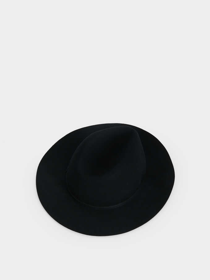 Wool Hat, Black, hi-res