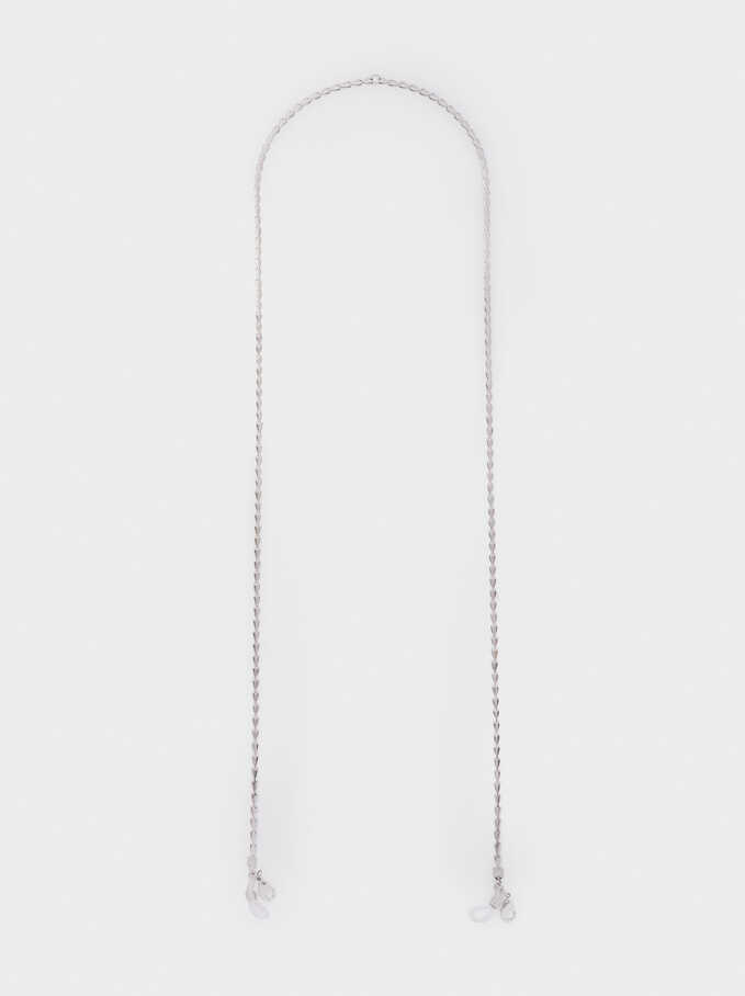 Chain For Face Masks Or Glasses, Silver, hi-res