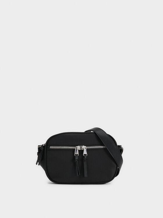 Nylon Crossbody Bag, , hi-res