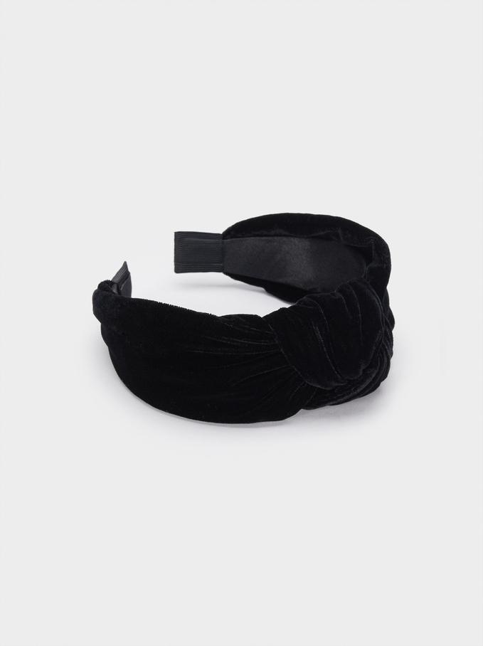 Diadème Turban , Noir, hi-res
