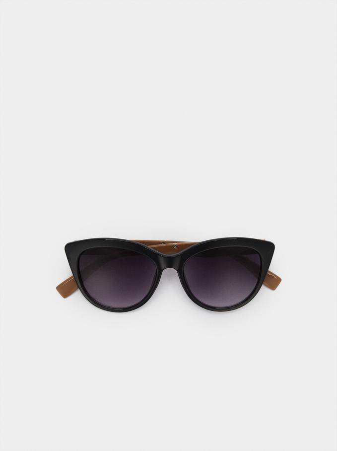 Gafas De Sol Montura De Pasta, Negro, hi-res