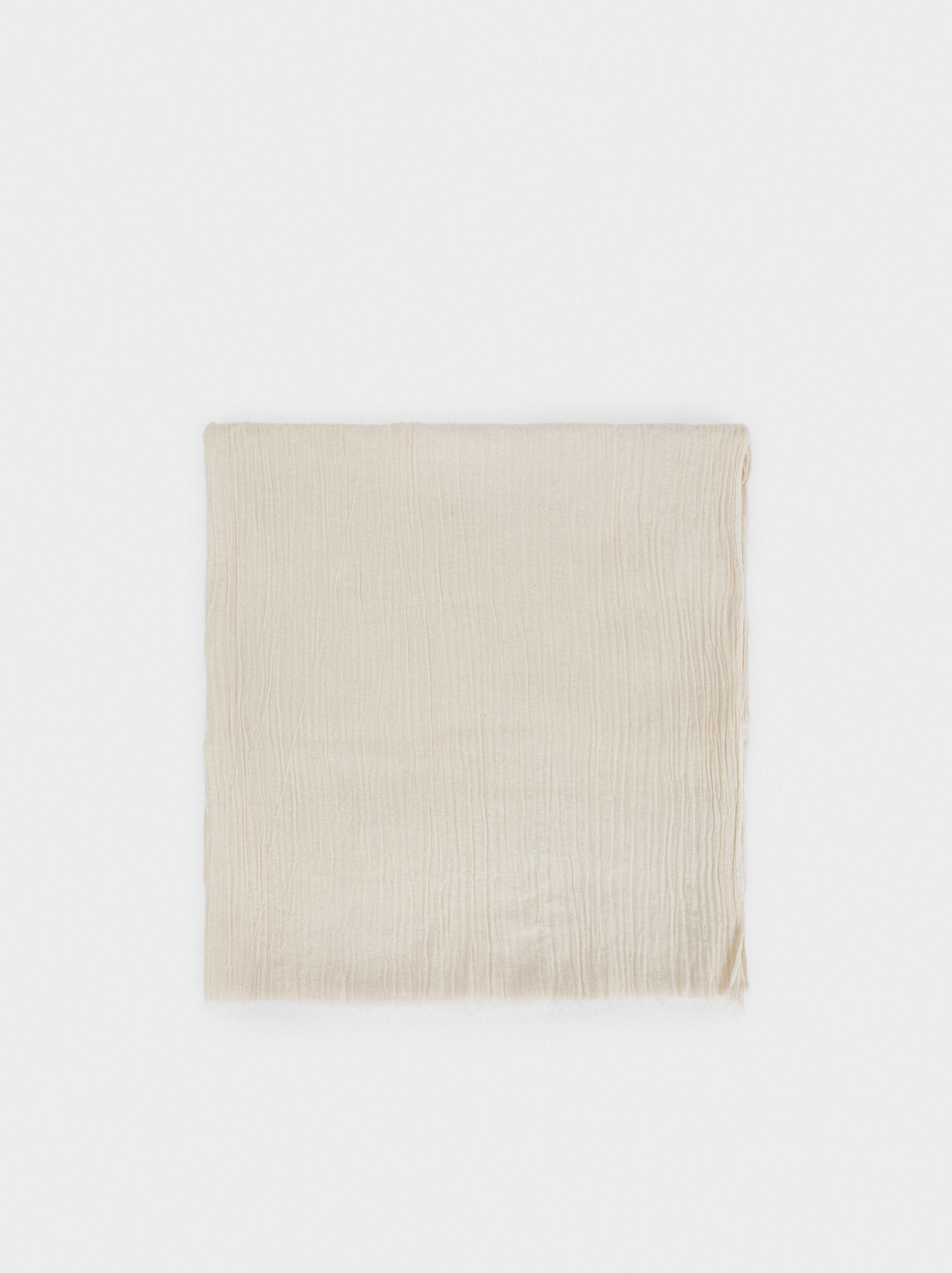 Plain Cotton Pashmina, , hi-res