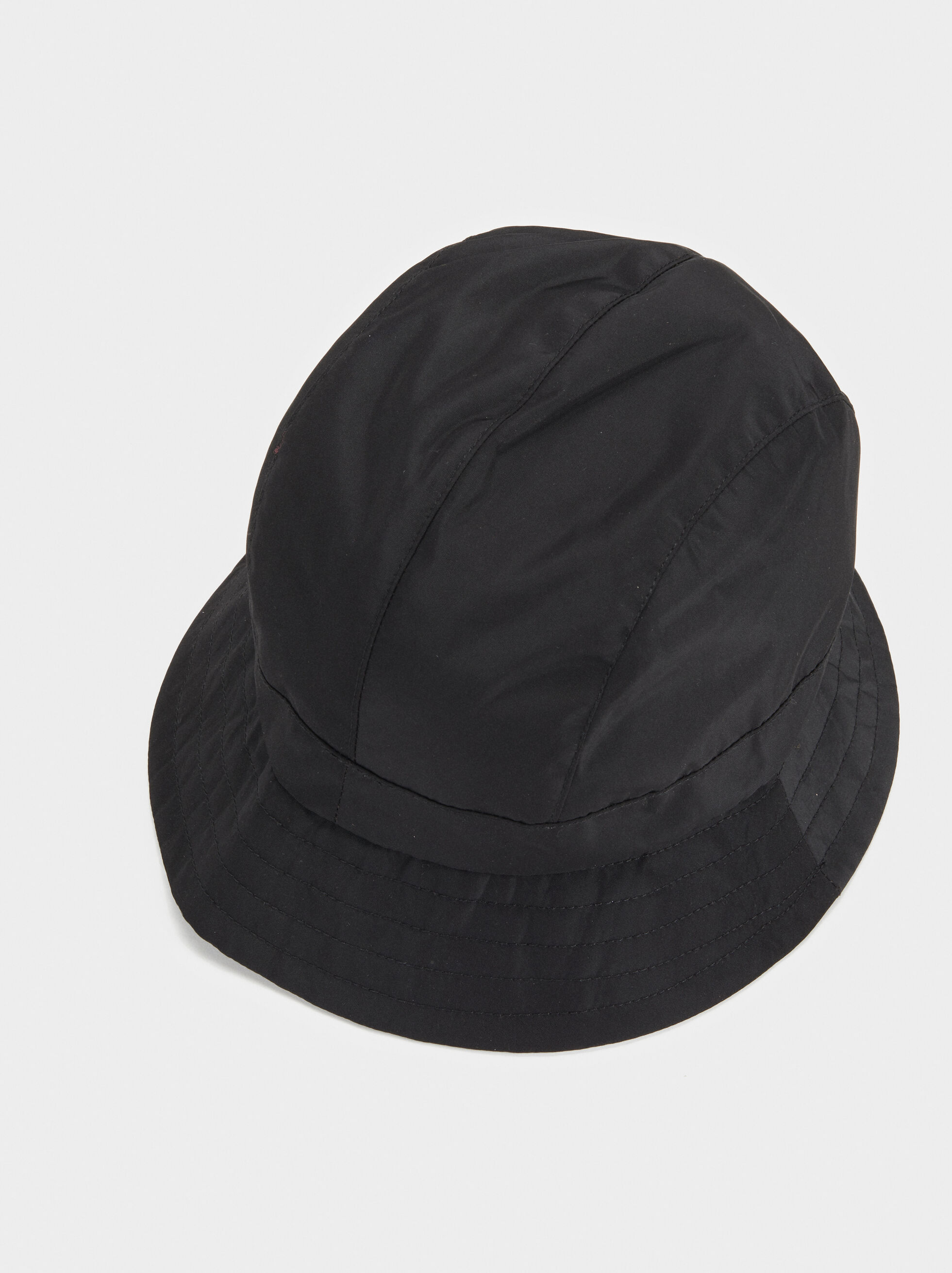 Basic Waterproof Hat, Black, hi-res