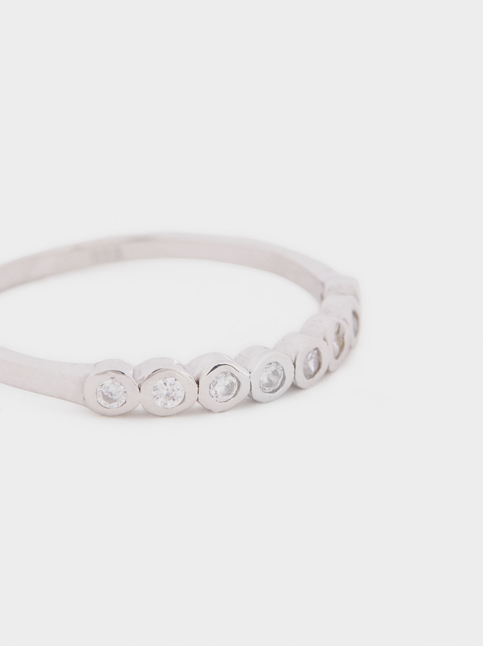 925 Silver Ring, Silver, hi-res