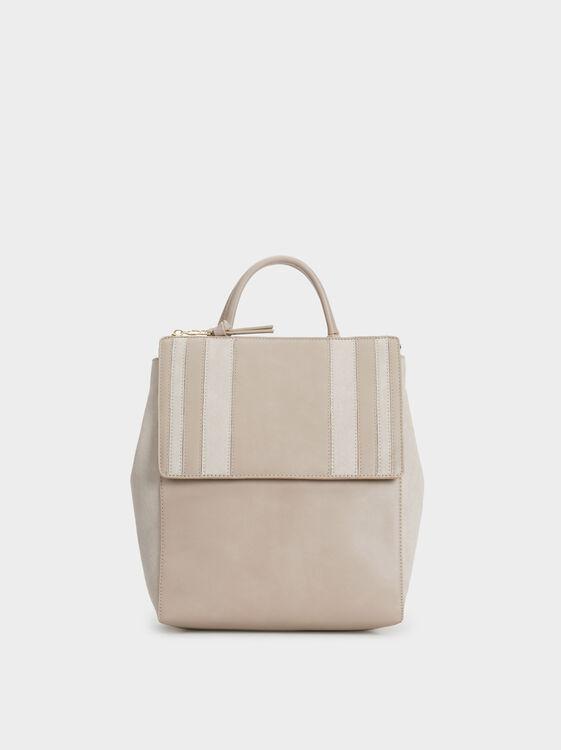 Patchwork Backpack, , hi-res