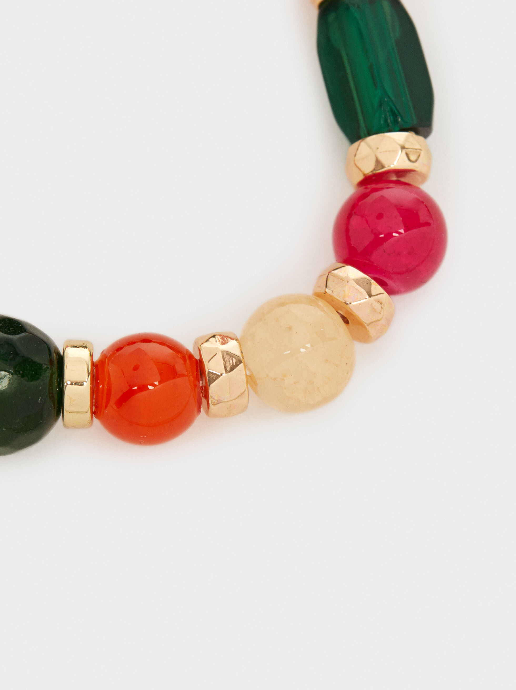 Wild Color Elastic Bracelet, Multicolor, hi-res