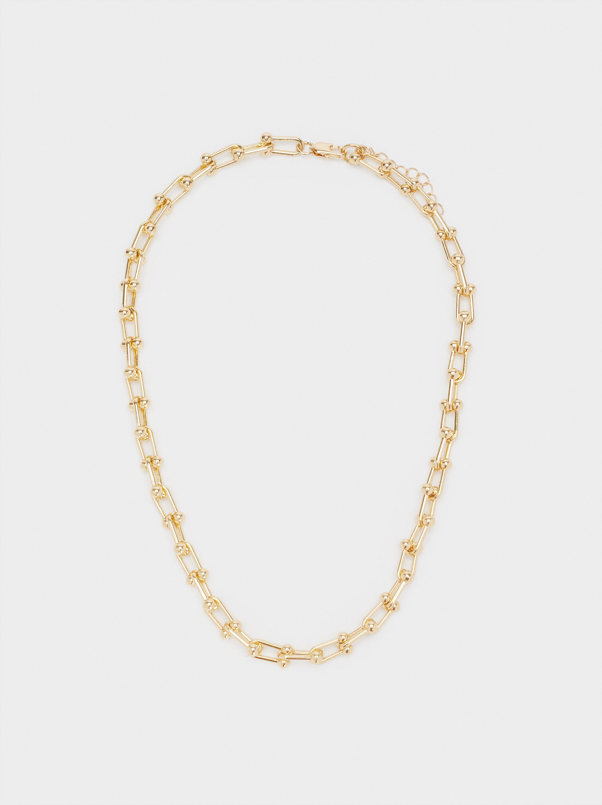 Gold Chain Necklace, , hi-res