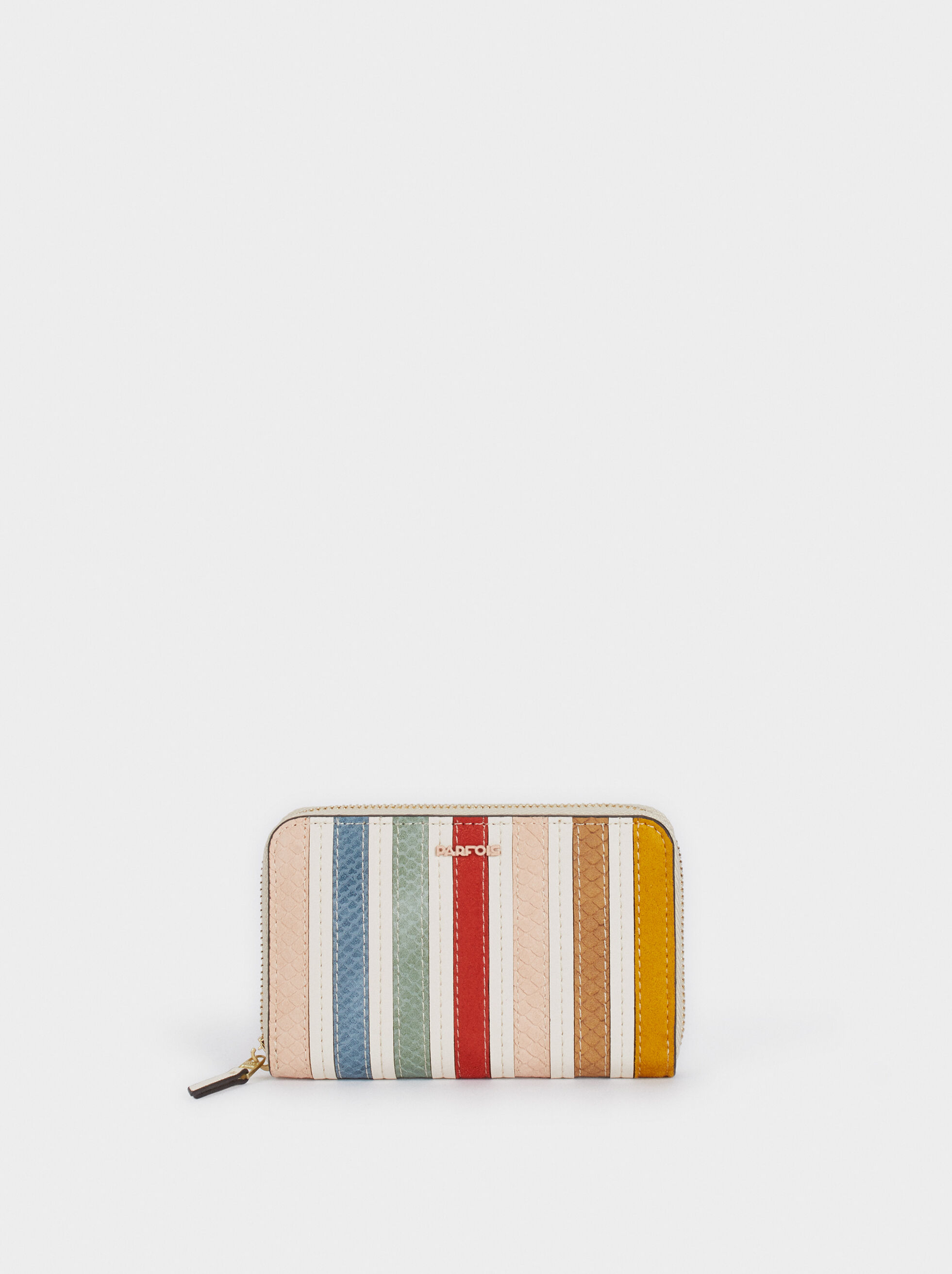 Zipped Purse, Ecru, hi-res
