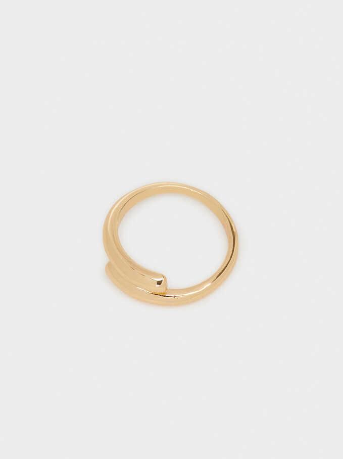 Gold Wedding Ring, Golden, hi-res