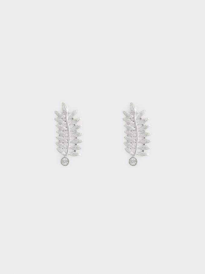 Silver Delicates Earrings, Silver, hi-res