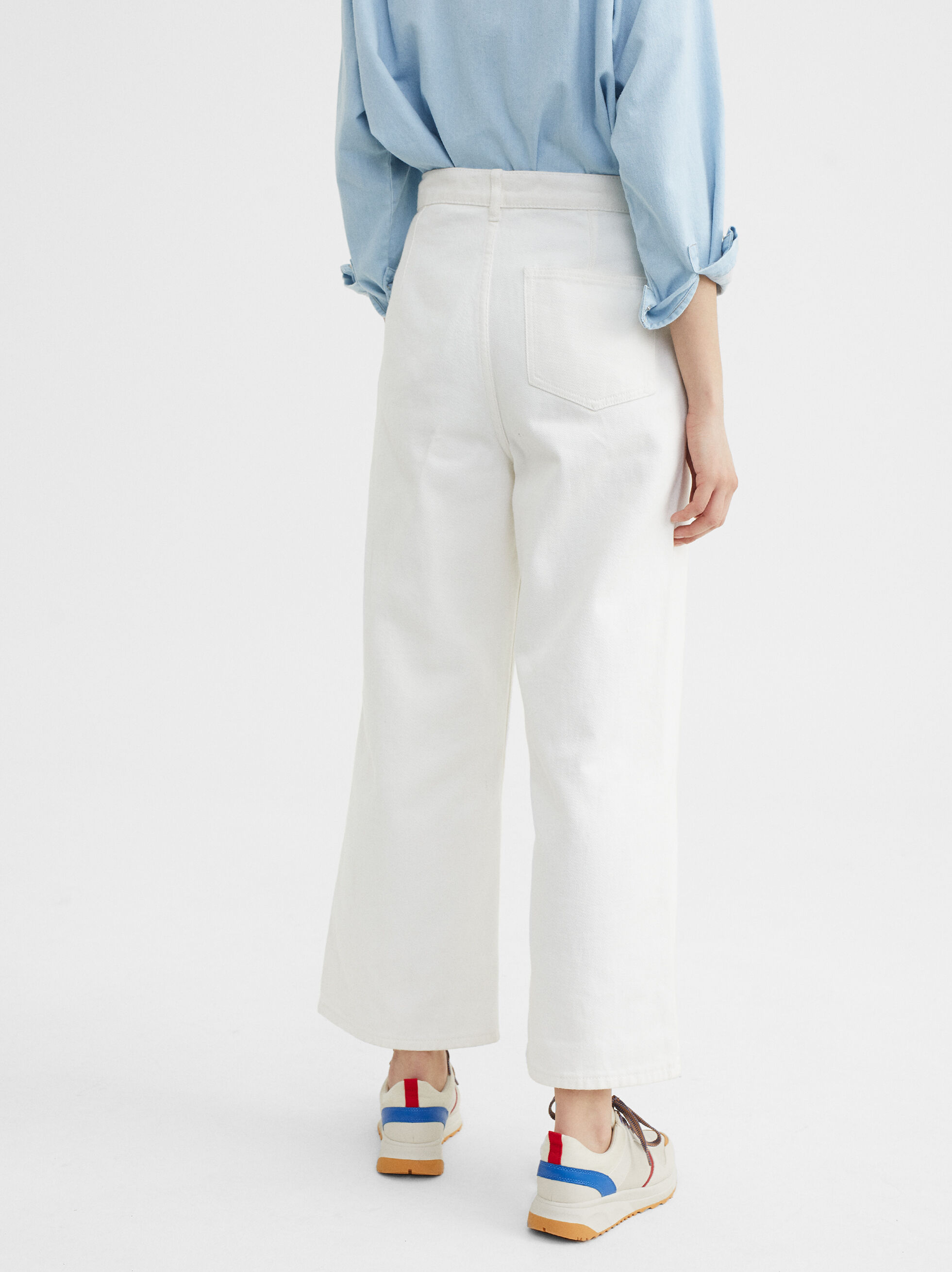 Here And Now Jeans, White, hi-res