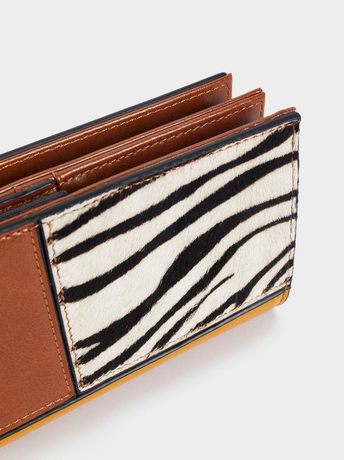 Long Patchwork Wallet, Yellow, hi-res