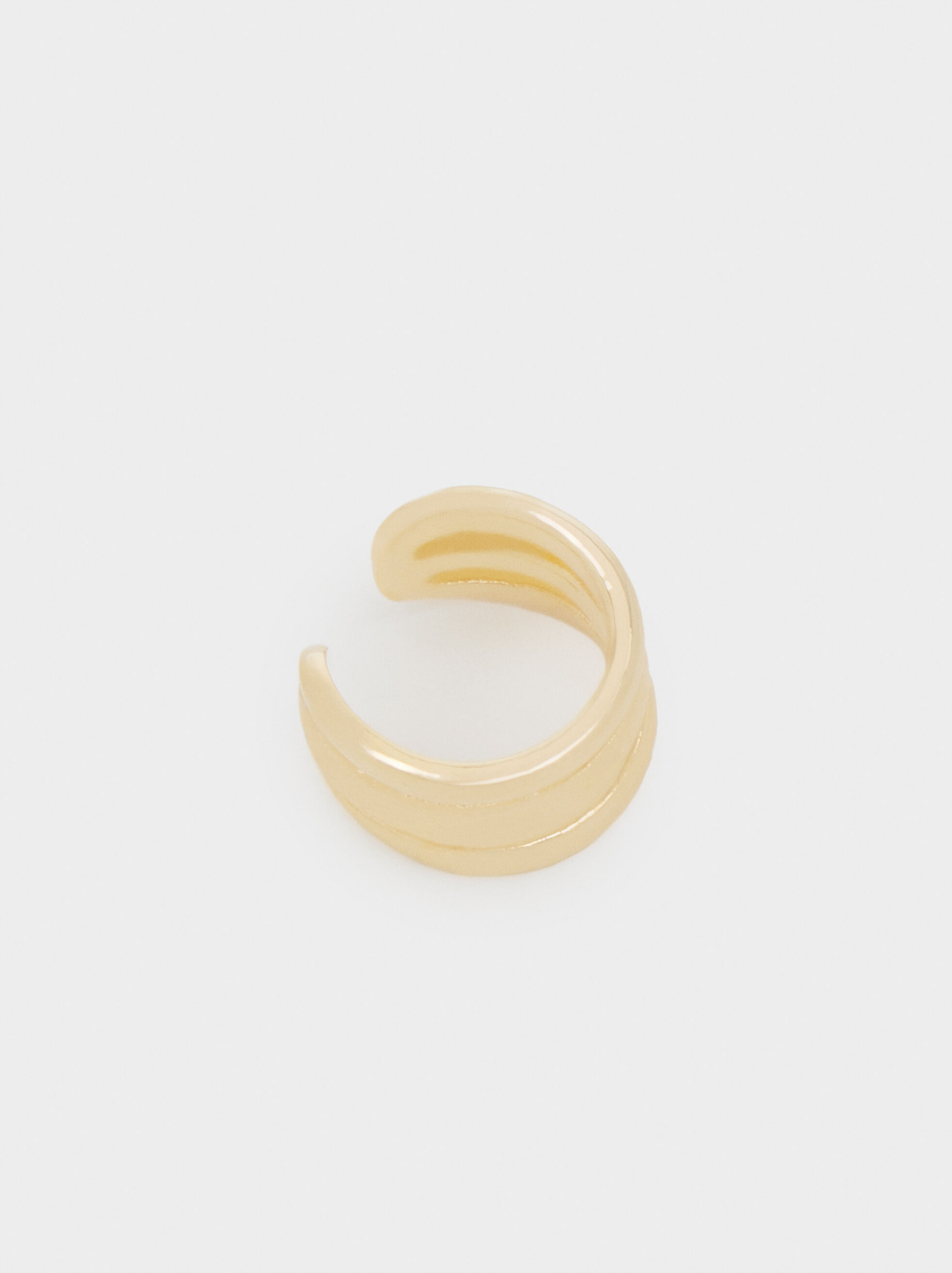 Gold Earcuff, Golden, hi-res