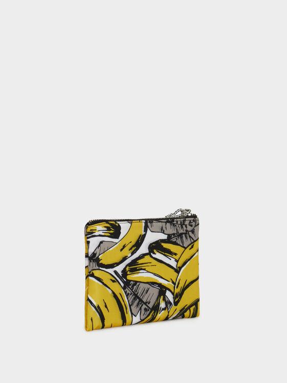 Nylon Multipurpose Purse, Yellow, hi-res