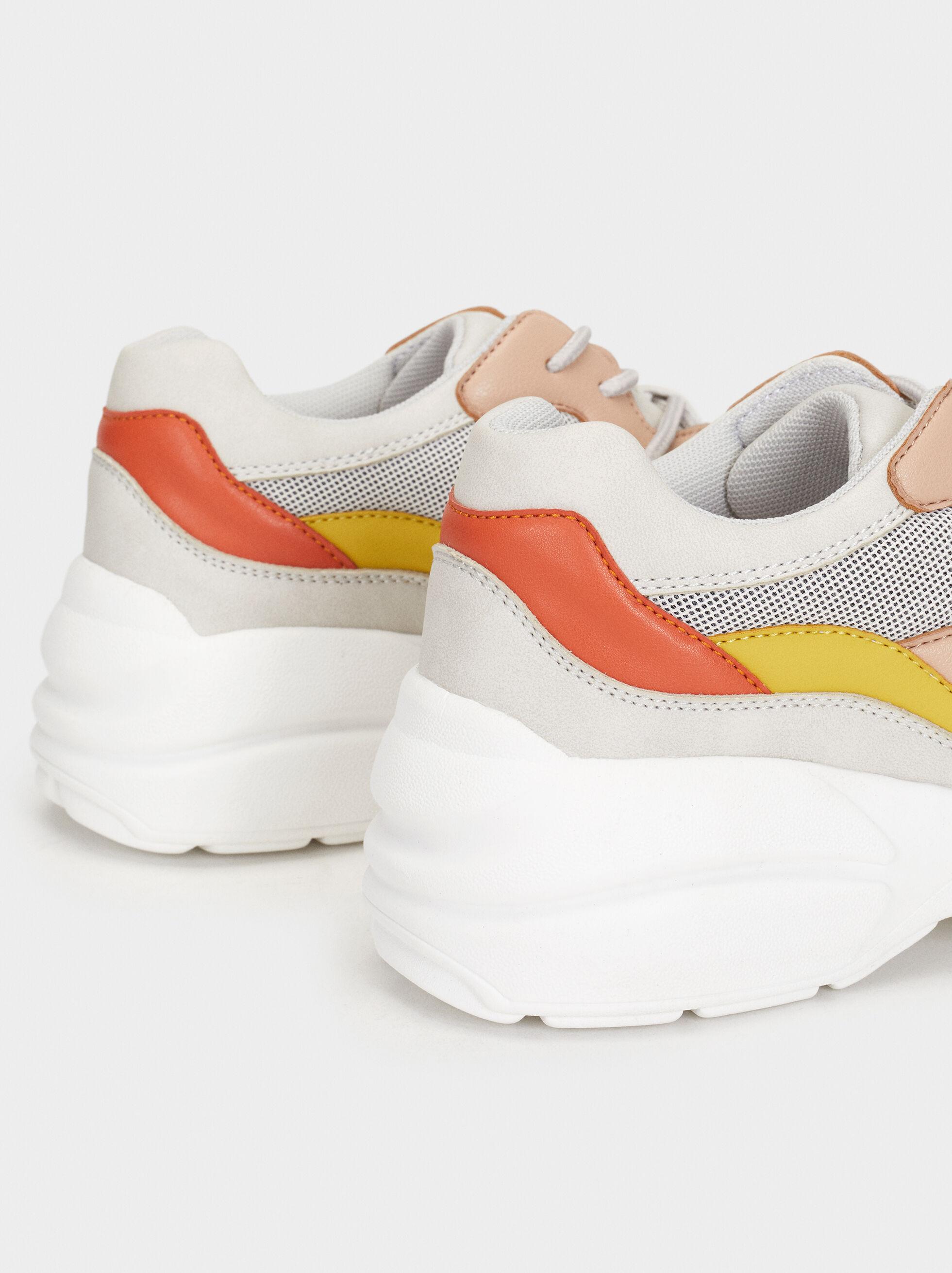 Maxi Sole Trainers, Multicolor, hi-res