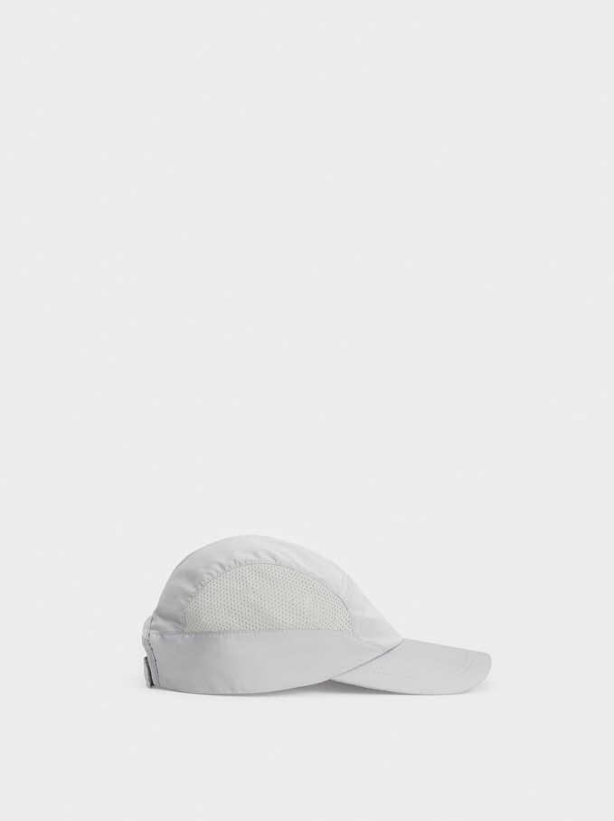 Limited Edition Plain Cap, Grey, hi-res