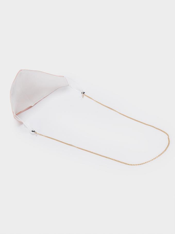 Plain Reusable Face Mask, Pink, hi-res