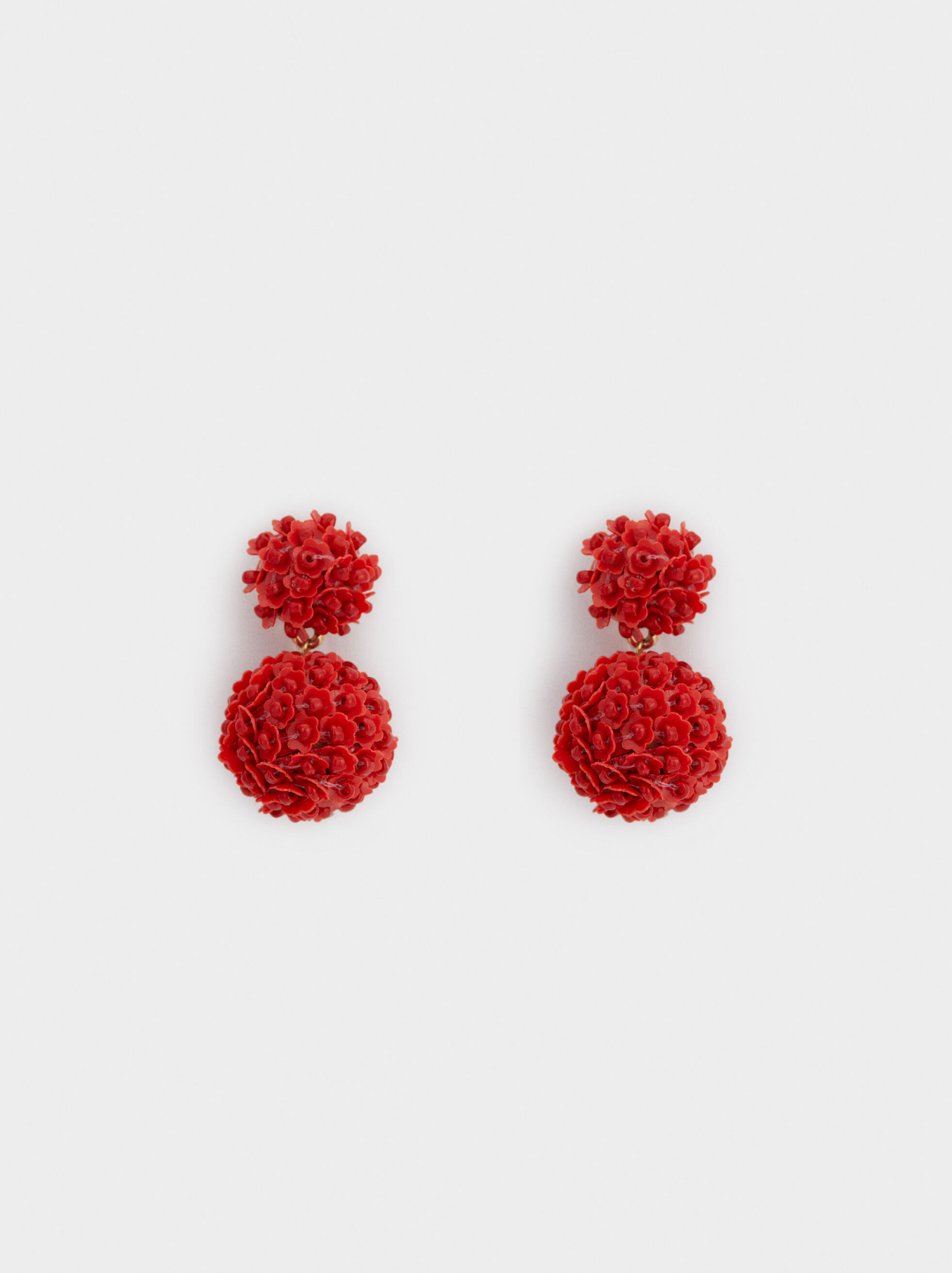 Strawberry Fields Medium Earrings With Floral Prin, , hi-res