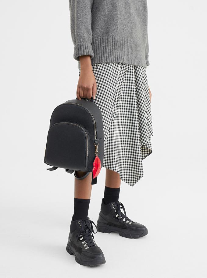 We Are Love Backpack, Black, hi-res
