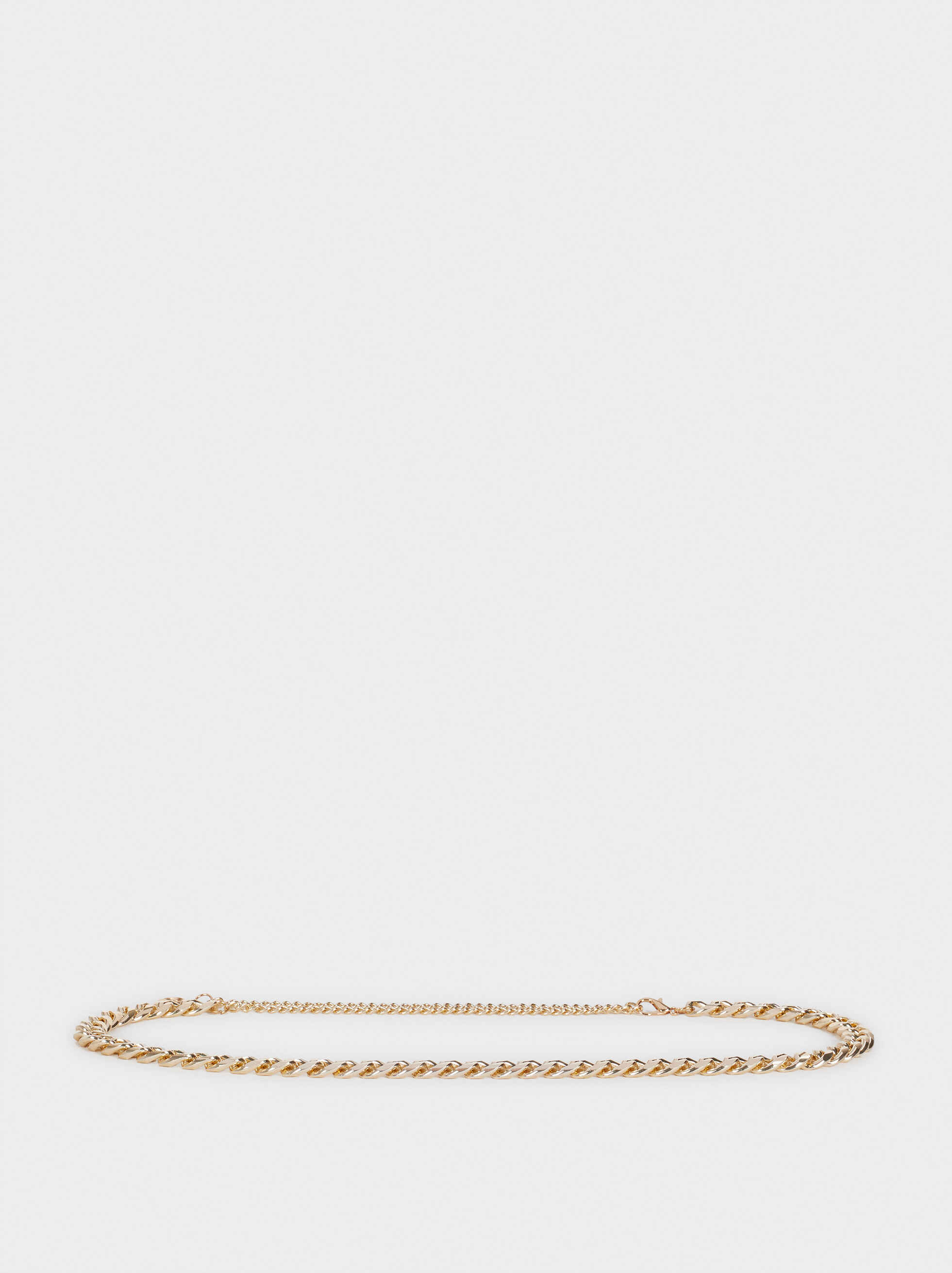 Chain Evening Belt, Golden, hi-res