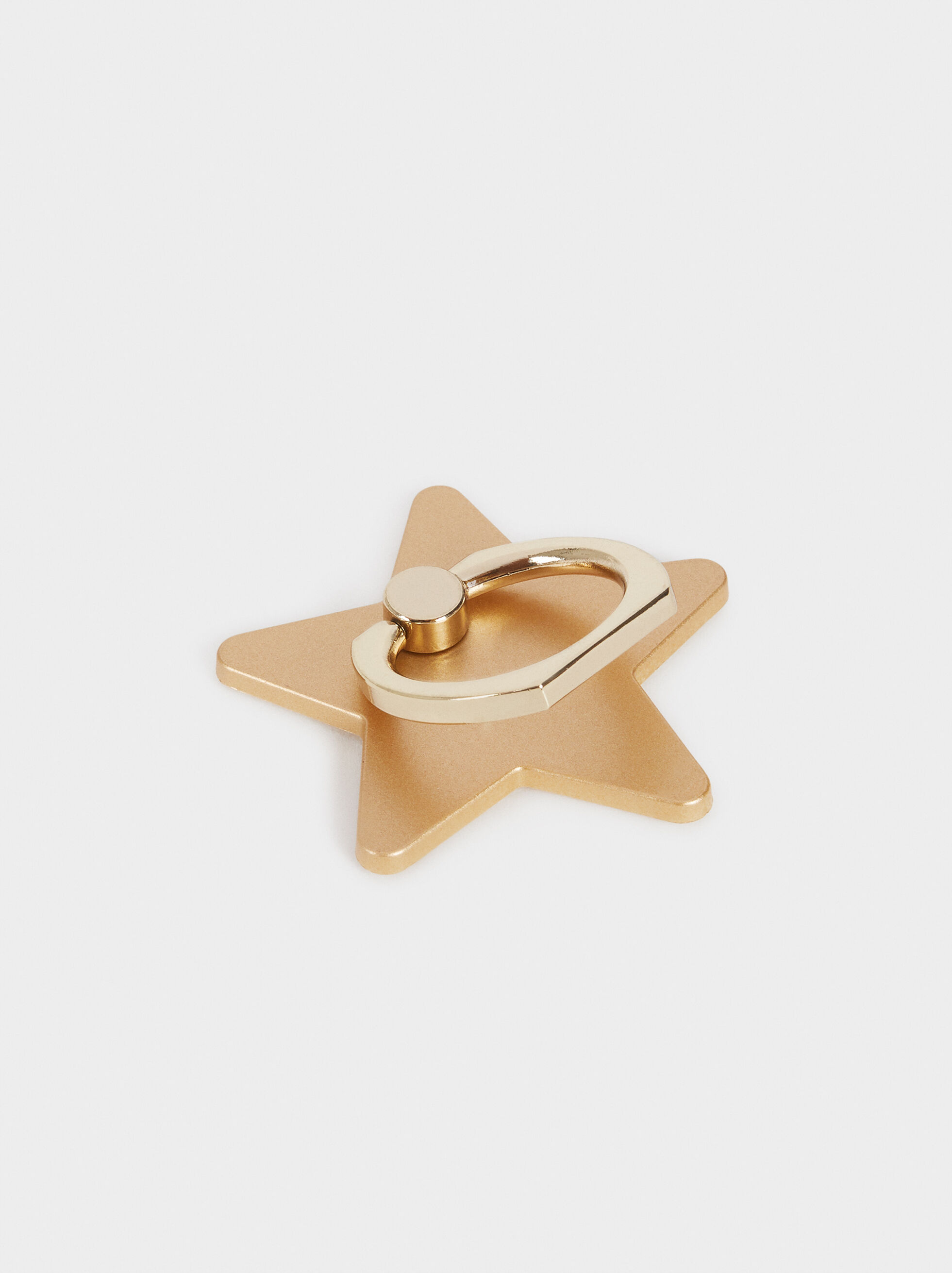 Mobile Phone Ring Stand, Golden, hi-res