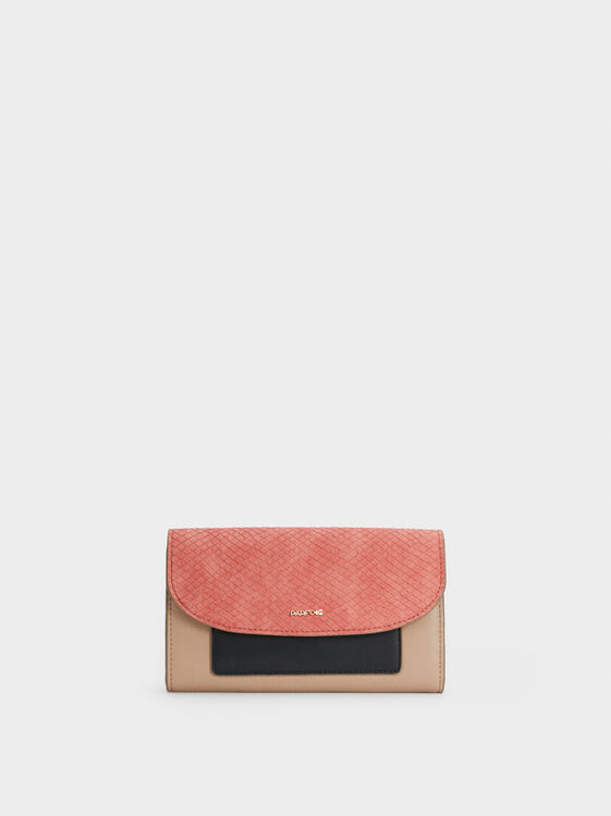 Medium Colour Block Purse, , hi-res