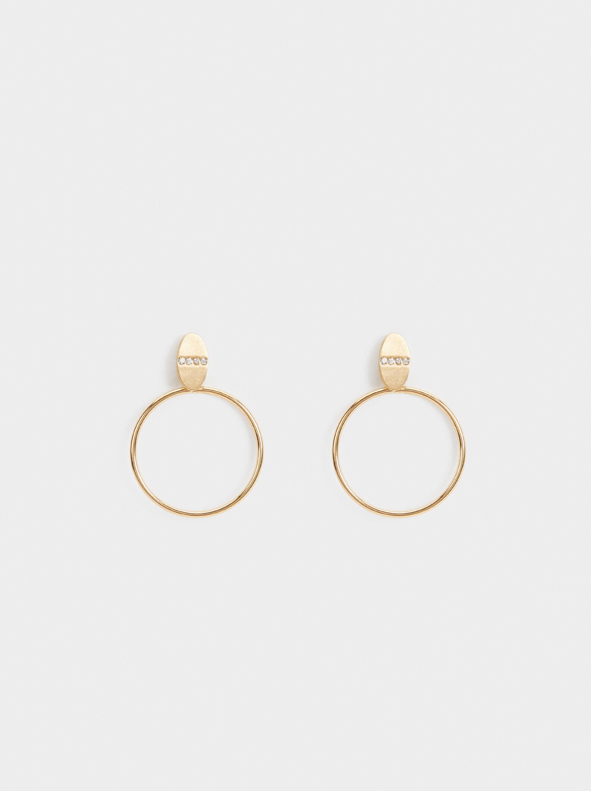 Medium Circle Earrings, , hi-res