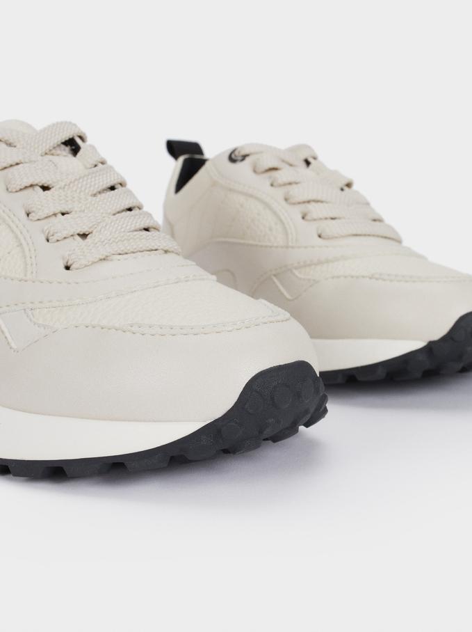 Sapatilhas Desportivas, Branco, hi-res
