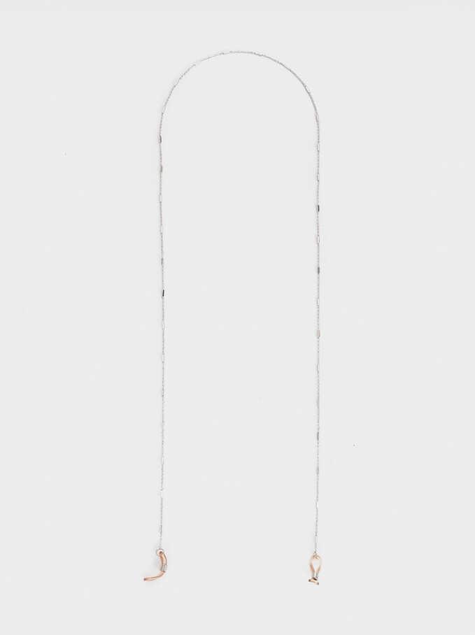 Glasses Chain, Silver, hi-res