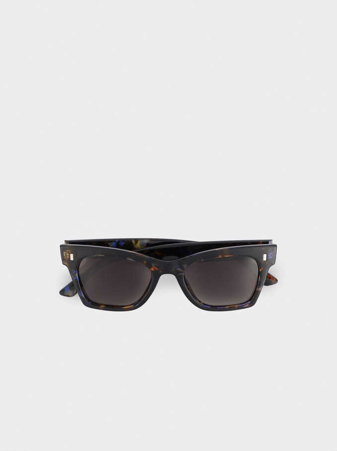 Gafas De Sol De Pasta Cat Eye, Multicor, hi-res